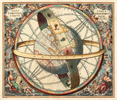Astronomical chart — Stock Photo