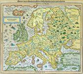 Lithuania map — Stock Photo