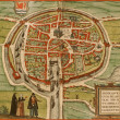 Medieval city map - Photo