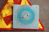 Staré sovětské radiační dávka kalkulačka — Stock fotografie