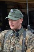 German radioman of WWII — Stock Photo