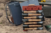 German Hand-Grenades — Stockfoto