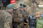 Duits eenheidsteam op tweede wereldoorlog — Stockfoto