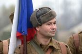 Ejército checo en la segunda guerra mundial — Foto de Stock
