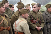 Czech Army at WWII — Stock Photo