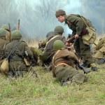 WWII reenactment — Stock Photo #38149279
