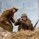 WWII reenactment — Stock Photo #38150441