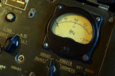 Old Soviet military radiometer. — Stock Photo