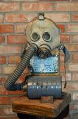 Soviet gas mask — Stock Photo