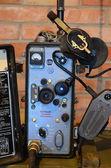 Vintage Soviet military radio — 图库照片