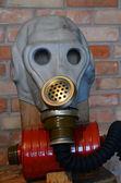 Sowjetische gasmaske — Stockfoto