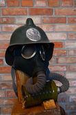 Radziecka maska gazowa — Zdjęcie stockowe