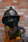 Sovjetisk gasmask — Stockfoto