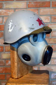 Maschera antigas sovietico — Foto Stock