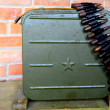 Stock Photo: Ammo box