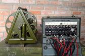 Soviet military field telephone commutator — Stock Photo
