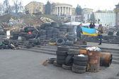 Kiev.Riot — Stock Photo