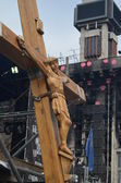 Second crucifixion of Jesus — Stock Photo