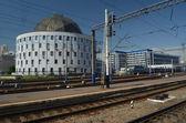 Centraal station station.kiev, oekraïne — Stockfoto
