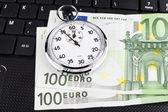 Euro Time — Stock Photo