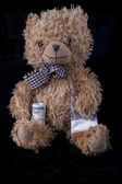 Teddy Dealer — Stock Photo
