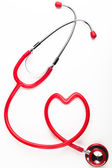 Heart Stethoscope — Stock Photo