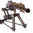 WWI Machine Gun - Foto de Stock
