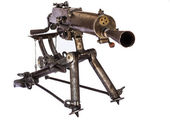 WWI Machine Gun — Stock Photo