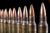 Bullets Row — Stock Photo