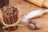 Cinnamon Pile — Stock Photo