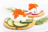 Caviar Appetiser — Stock Photo