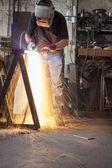 Metalworking — Stock Photo