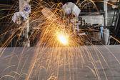 Lavoratore industriale — Foto Stock