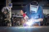 Metal Welding — Foto de Stock