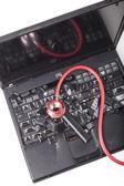 Black Laptop — Stock Photo