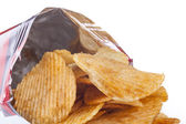 Chips in Bag — Stock Photo