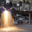 Plasma Cutting — Foto de Stock