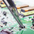 Stock Photo: Electronic Component