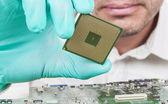 Verifying Micoprocessor — Stock Photo