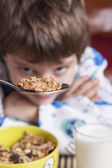Look at Cereals — Stock Photo