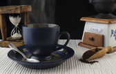 Steaming Coffee — Stock Photo