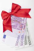 Euro Gift — Stock Photo