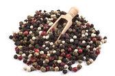 Isolate Coloured Pepper — Stock fotografie