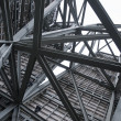 Stock Photo: Steel Construction in sky