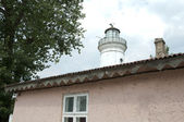 Old Lighthouse Building in enter of Danube Delta — Stock Photo
