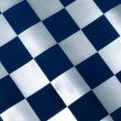 Checked Blue Material — Stock Photo