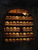 Meteora monastery graveyard — Stock Photo