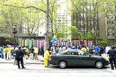 Falun Gong 2014 Parade Celebration in New York — Stock Photo