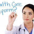 Stock Photo: Health care reform