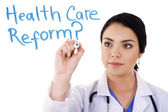 Health care reform — Stock Photo
